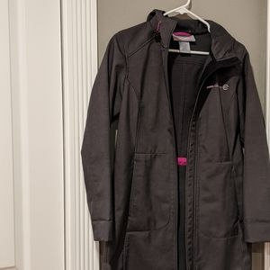 Free country rain wind resistant jacket